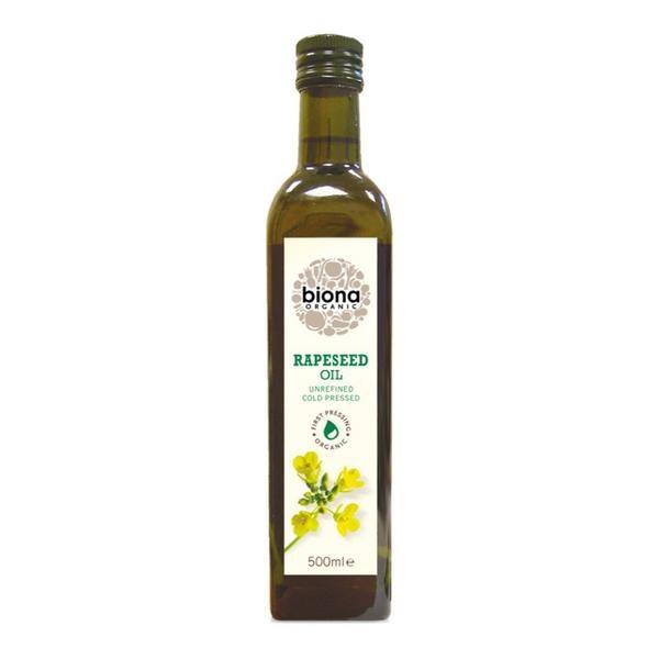 Organic Rapeseed Oil