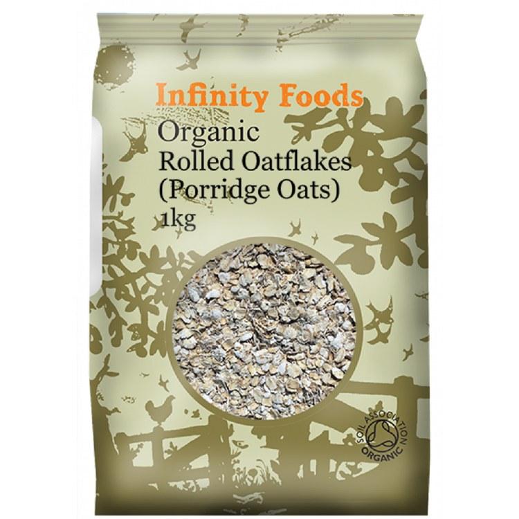 Organic Rolled Oatflakes (Porridge Oats)