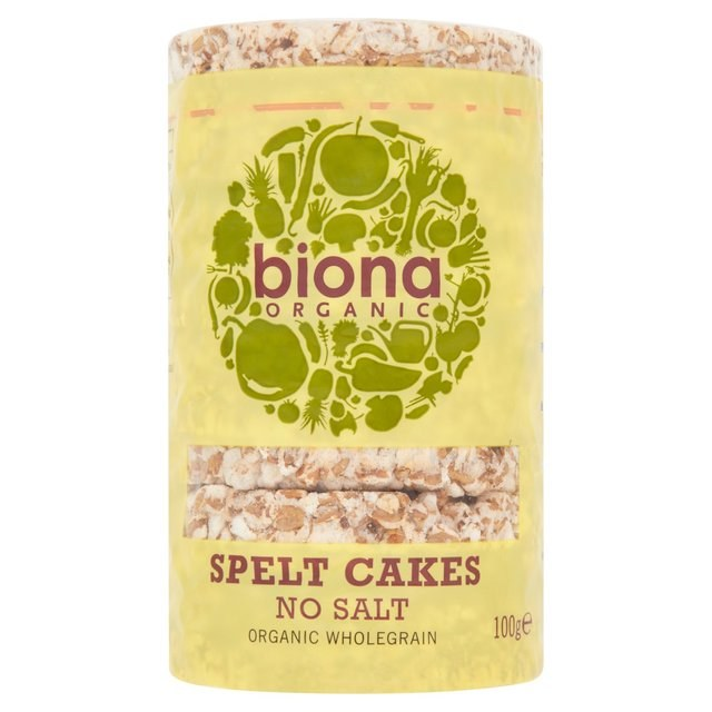 Organic Spelt Cakes - No Salt