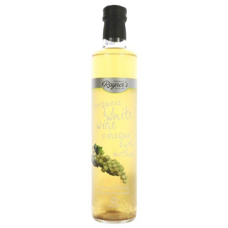 Organic White Wine Vinegar with the Mother