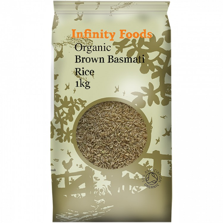 Organic Brown Basmati