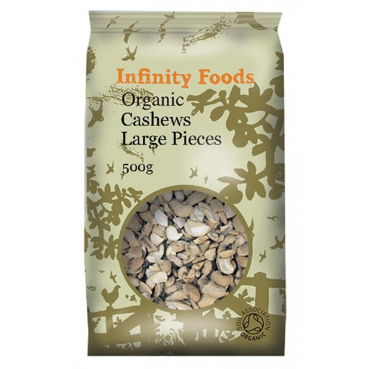 Organic Cashews Large Pieces