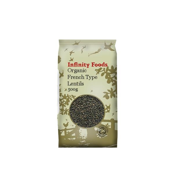 Organic French Type Lentils