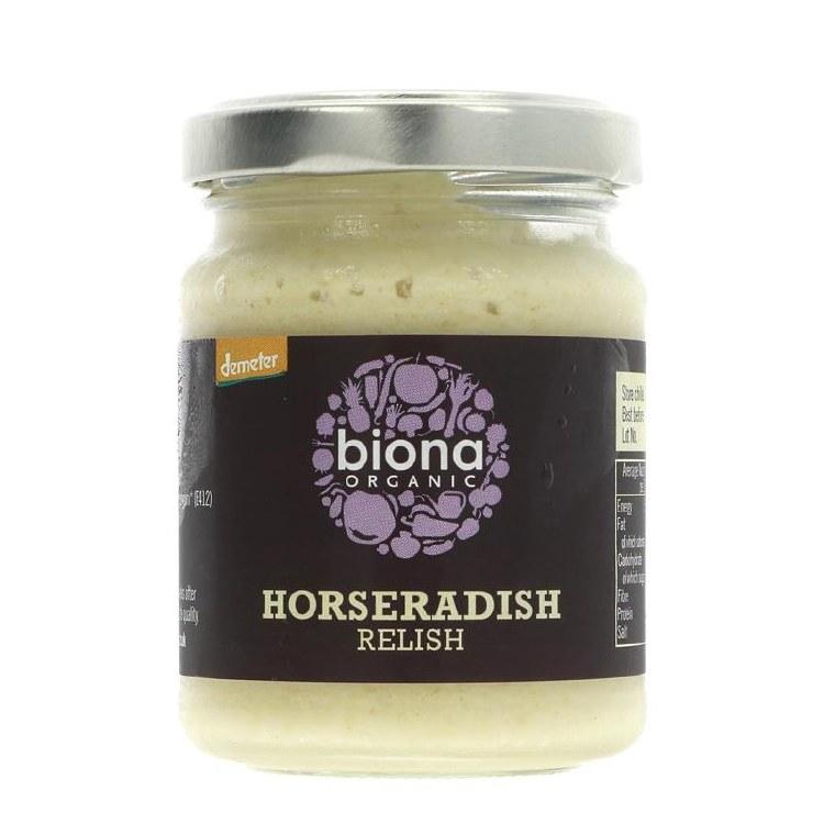 Organic Horseradish Relish