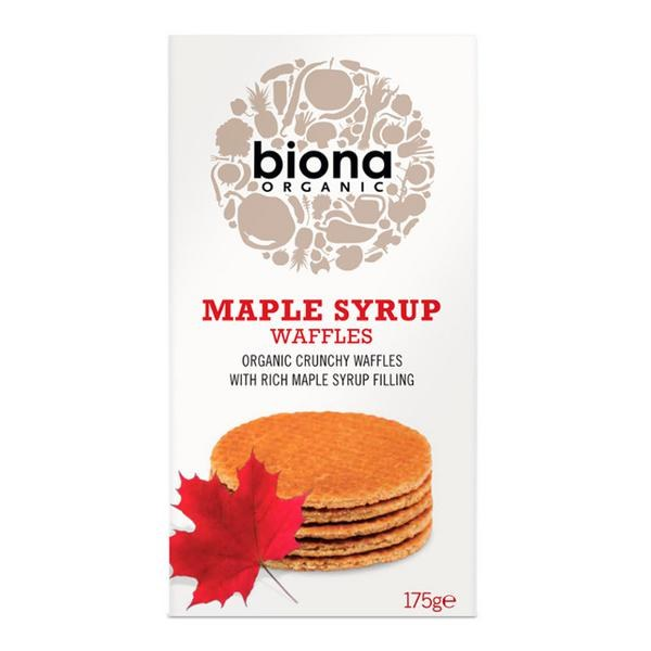 Organic Maple Syrup Waffles