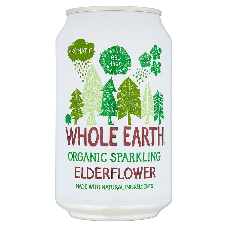Organic Sparkling Elderflower