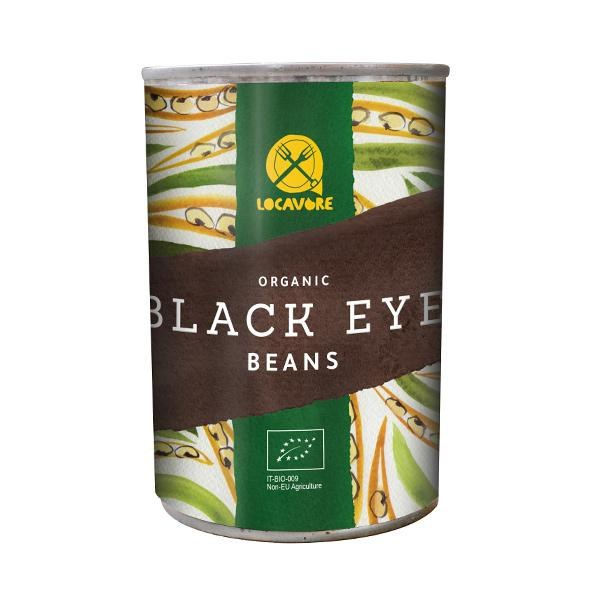 Organic Tinned Black Eye Beans