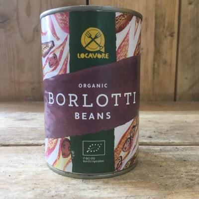 Organic Tinned Borlotti Beans