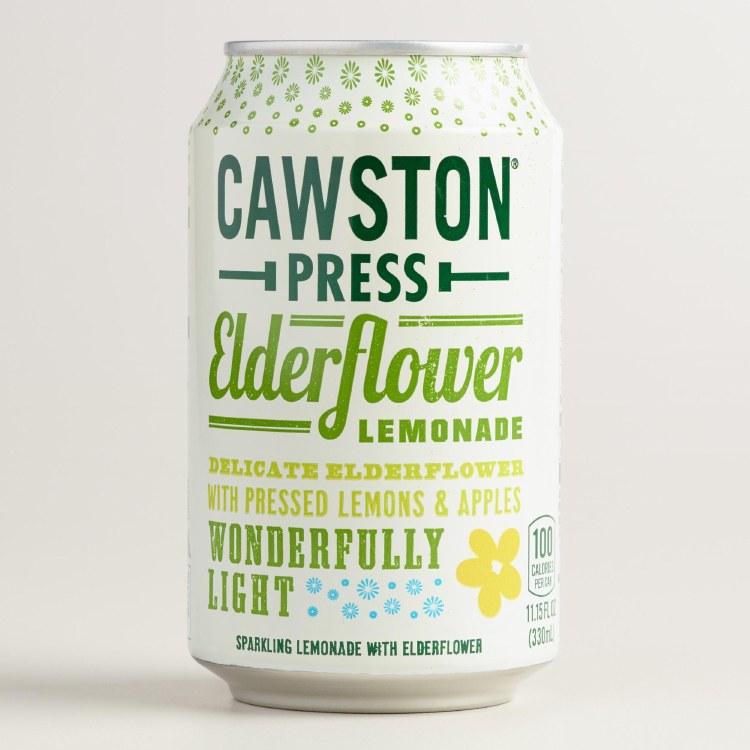 Sparking Elderflower Lemonade