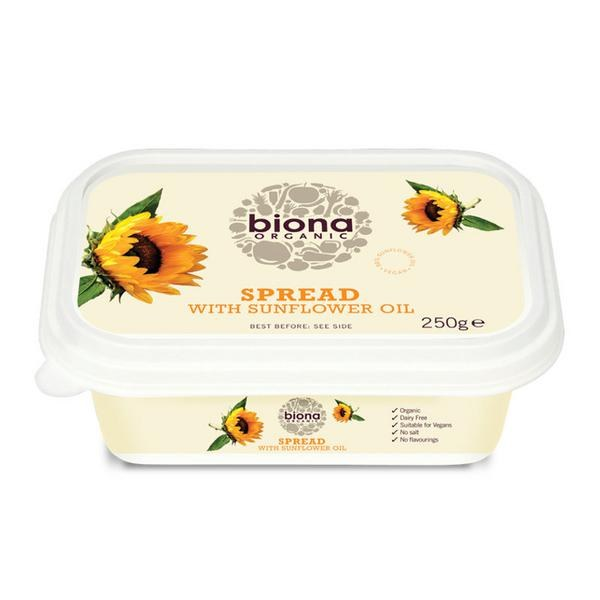 Organic Sunflower Vegetable Margarine