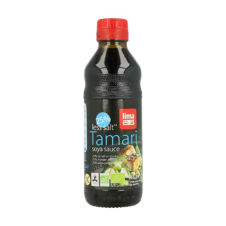 Organic Tamari Soya Sauce 25% Less Salt