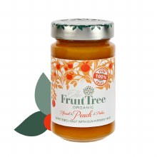 Organic Fruit Spread 100% Peach