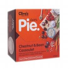 Organic Chesnut Bean Cassoulet Pie