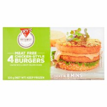 4 Meat Free Chicken Style Burgers