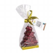 Dark Chocolate & Raspberry Christmas Tree