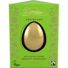 Dark Hazelnut Truffle Easter Egg