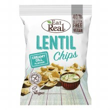 Lentil Chips - Creamy Dill