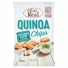 Quinoa Chips - Sour Cream & Chive