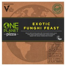 Exotic Funghi Feast Vegan Pizza