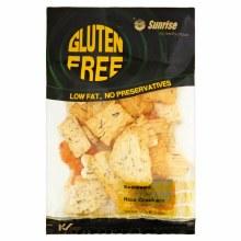 Gluten Free Seaweed Rice Crackers