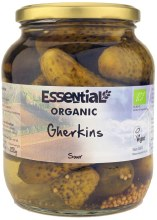 Organic Sour Gherkins