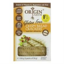 Gluten Free Crispy Bread Crackers