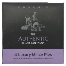 4 Luxury Mince Pies (made with no gluten containing ingredients)