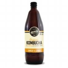 Organic Ginger & Lemon Kombucha