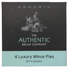 4 Luxury Mince Pies (with cognac)
