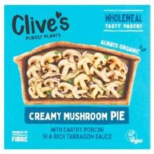 Organic Creamy Mushroom Pie