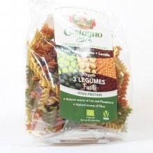 Organic 3 Legumes Fusilli