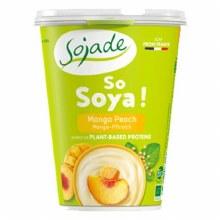 Organic Mango & Peach Soya Yogurt
