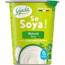 Organic Soya Natural Yoghurt