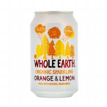 Organic Sparkling Orange & Lemon