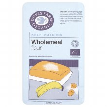 Organic Self Raising Wholemeal Flour