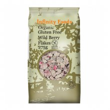 Organic Wild Berry Flakes Gluten Free