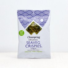 Clearspring Organic Seaveg Crispies - LRG