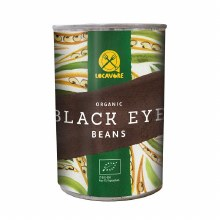 Organic Tinned Black Eye Beans