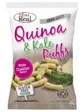 Quinoa & Kale Puffs - White Cheddar