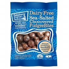 Dairy Free Sea Salted Chocovered Fudgee Bites
