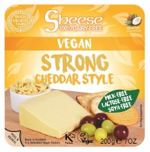 Strong Cheddar Style Wedge