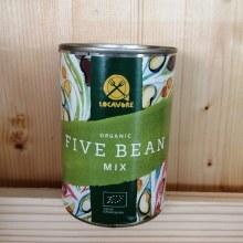Organic Tinned Five Bean Mix