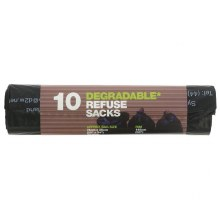 10 Degradable Refuse Sacks