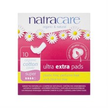 Organic Cotton Ultra Extra Pads Super