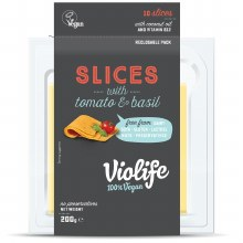 Slices with Tomato & Basil
