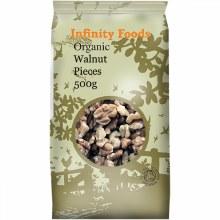 Organic Walnut Pieces - Extra Light
