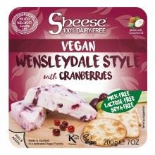 Wensleydale with Cranberries Block