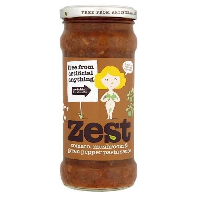 Tomato, Mushroom and Green Pepper Pasta Sauce