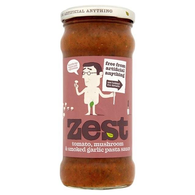 Tomato, Mushroom & Smoked Garlic Pasta Sauce