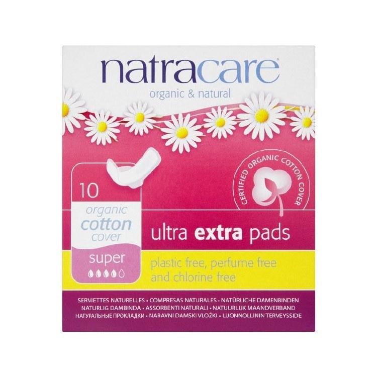 Organic Cotton Ultra Extra Pads Super